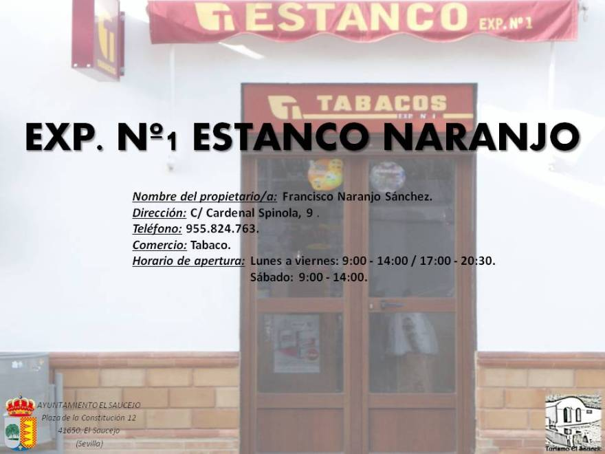 Estanco Naranjo