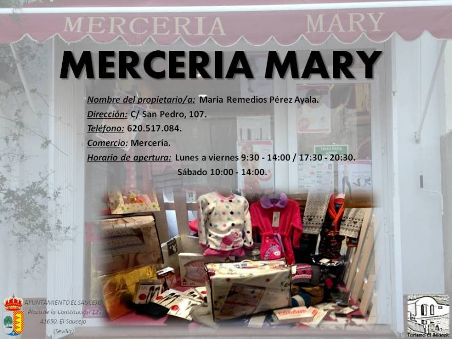 Mercería Mary