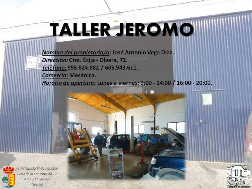 Taller Jeromo