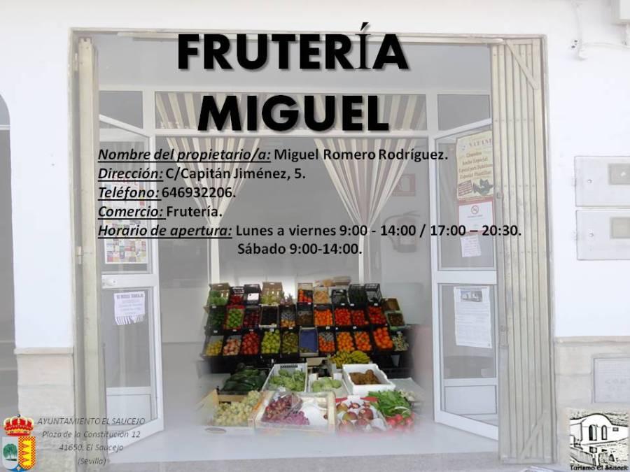 Frutería Miguel
