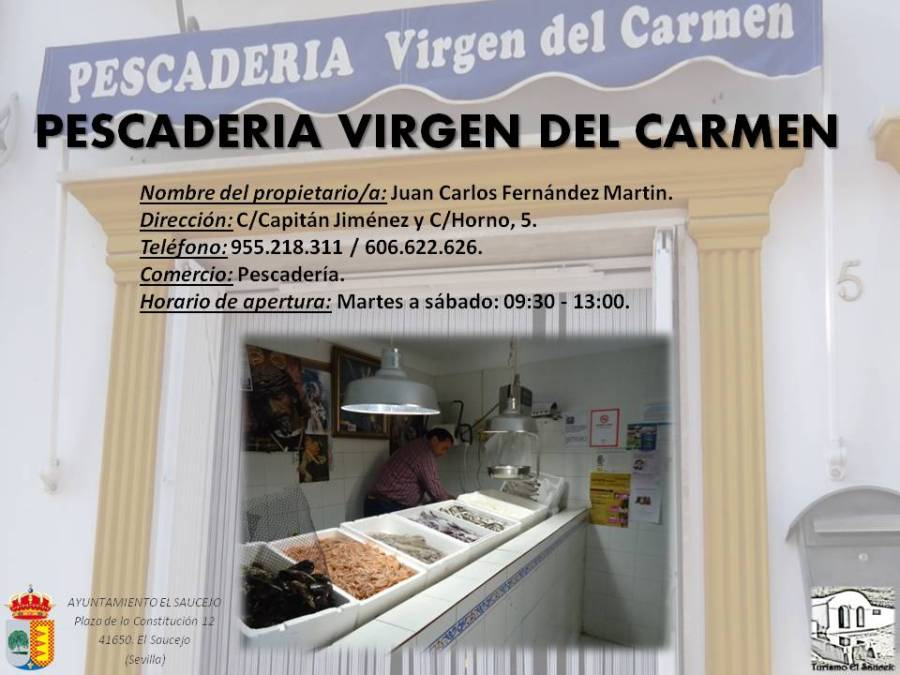 Pescadería Virgen del Carmen