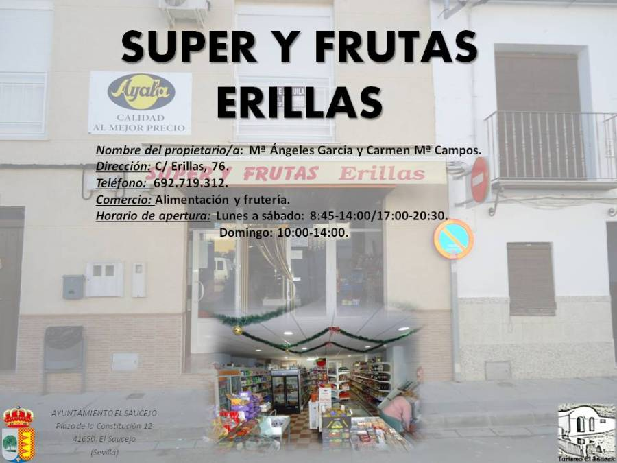 Super y Frutas Erillas