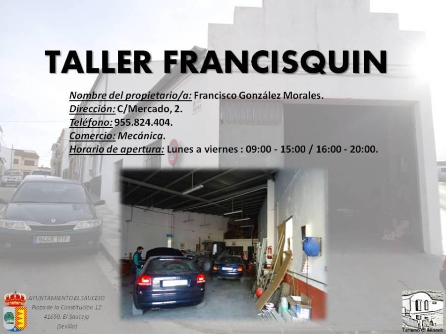 Taller Frascisquin