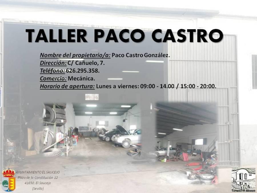 Taller Paco Castro